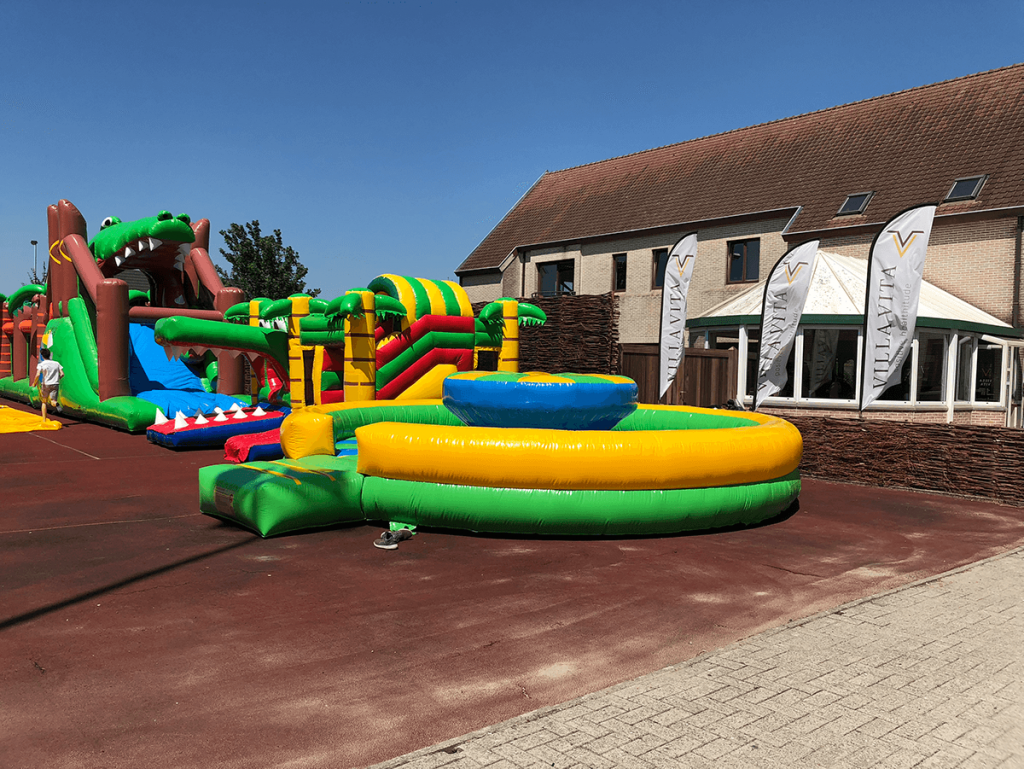 inflatable park outdoor